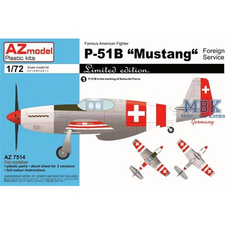 P-51B Mustang Foreign
