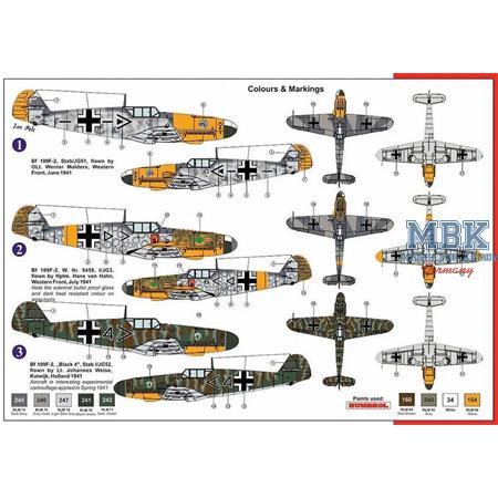 Messerschmitt Bf 109F-2 Aces
