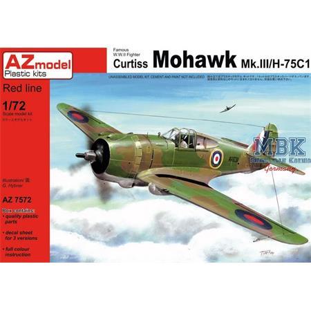 Curtiss Mohawk Mk.III/H-75C1