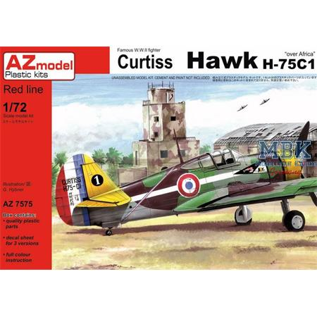 "Curtiss Hawk H-75C1 ""Over Africa"""
