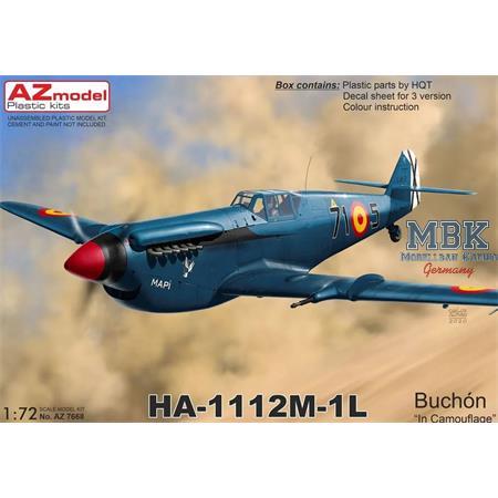 """HA-1112M-1L Buchón """"In Camouflage"""""""