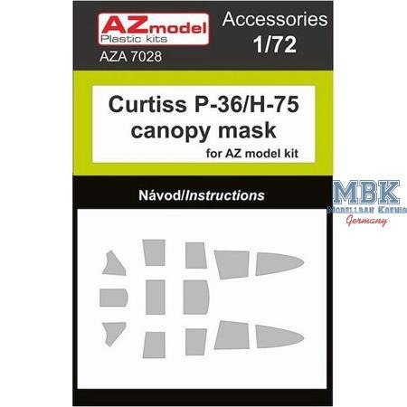 Curtiss P-36/H-75 mask