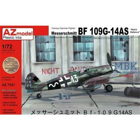 """Messerschmitt Bf 109G-14AS """"Reich Defense"""""""