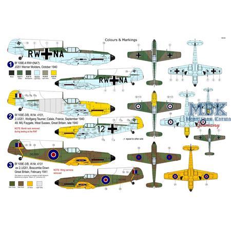 """Messerschmitt Bf 109E-3/4 """"Special Markings"""""""