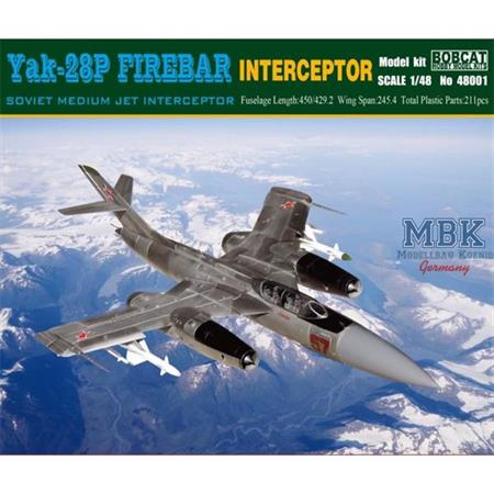 Yak-28P Firebar Interceptor