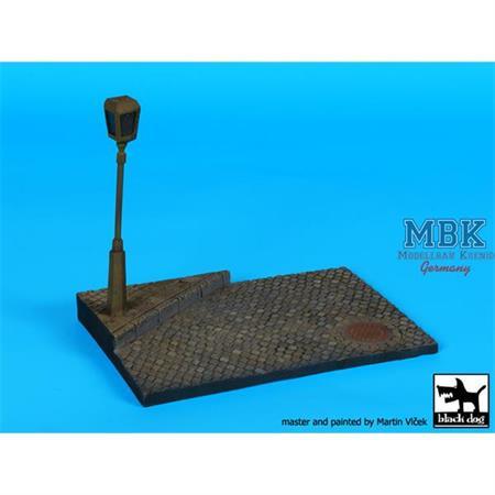 Street lamp N°2 base (150x100mm)