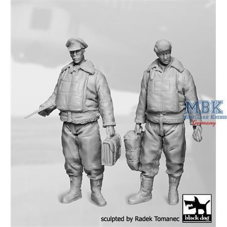 USAAF Bomber Aircraft Commander+ Navigator 40-45