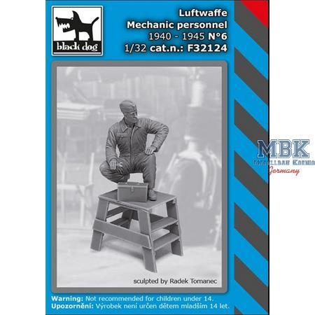 Luftwaffe mechanic personnel 1940-45 N°6