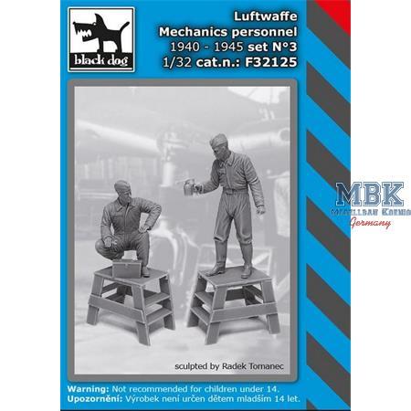 Luftwaffe mechanics personnel 1940-45 set N°3
