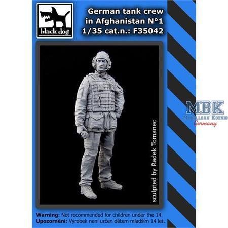 German Tank Crew in Afghanistan #1