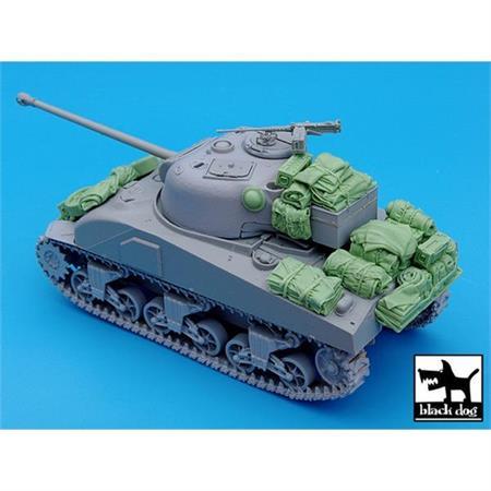 British Sherman Firefly accessories set