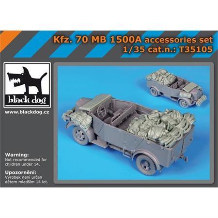 Kfz. 70 MB 1500A accessories set