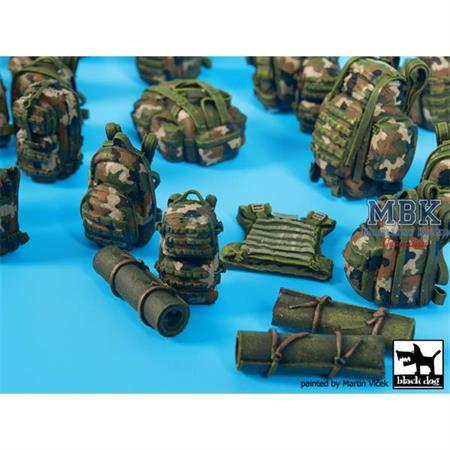 French equipment  accessories Set