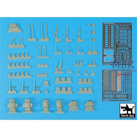 Unimog Belgian Special forces accessories set