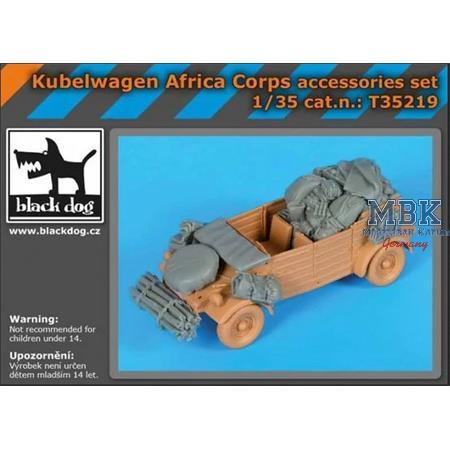 Kübelwagen Africa Corps  accessories  set 1/35