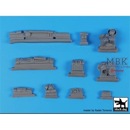 German Tank destroyer Elefant accessories set1/35