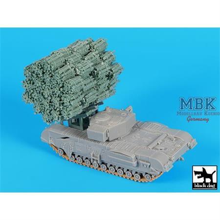 Frame fascine for Churchill Mk IV  1/72