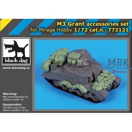 M3 Grant accesories set / Zubehör  1/72