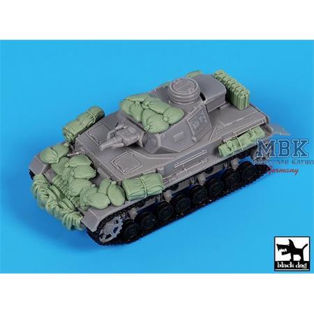 Panzer IV  accesories set / Zubehör  1/72