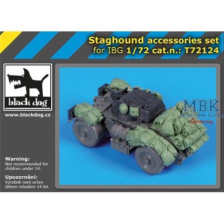 Staghound  accesories set / Zubehör  1/72