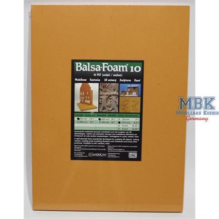 Balsa-Foam Hartschaum 305x228x12,5mm 10PCF #16