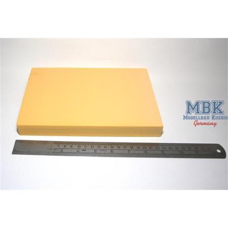 Balsa-Foam Hartschaumplatte 228x152x25mm 5 PCF #8