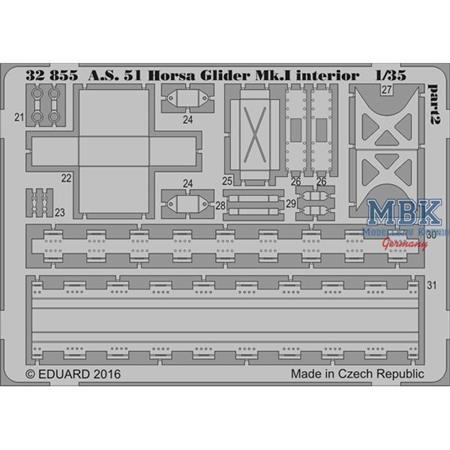 A.S. 51 Horsa Glider - BIG ED 1/35