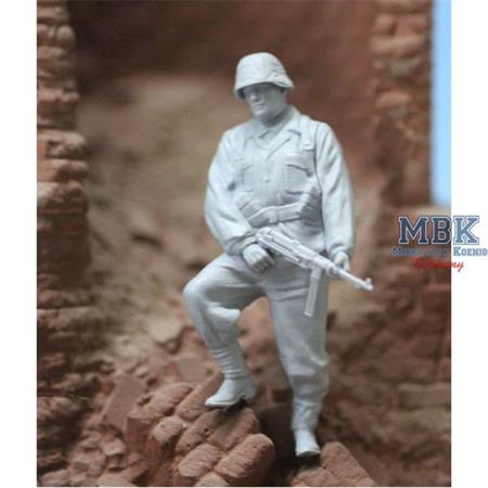 SS Soldier, waiting