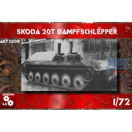 Skoda 20t Dampfschlepper