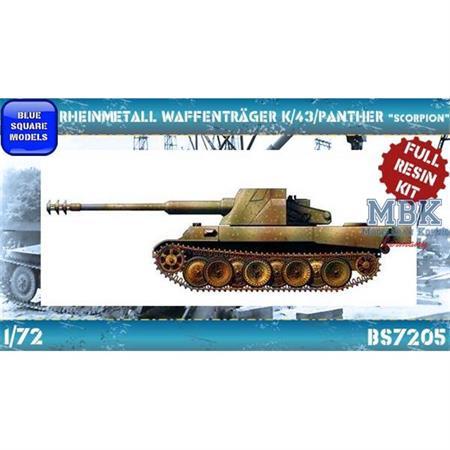 "Rheinmetall Waffenträger K/43/Panther ""Skorpion"""