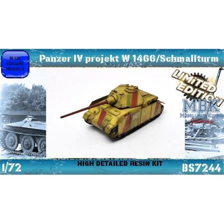 Panzer IV project W1466/Schmalturm