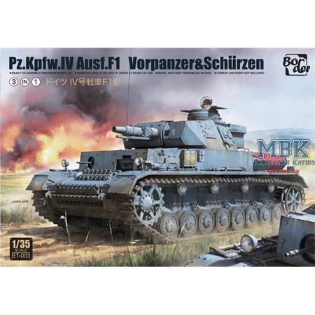 Panzer IV Ausf. F1 mit Zusatzpanzerung