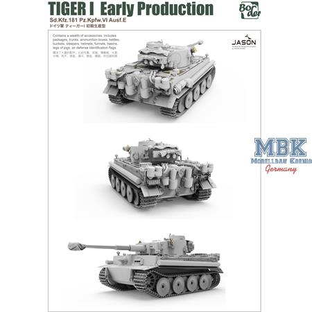 TIGER I Early Production Sd.Kfz.181