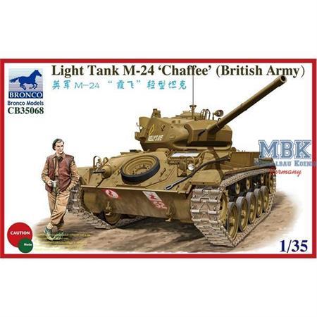M24 Chaffee (British Army)