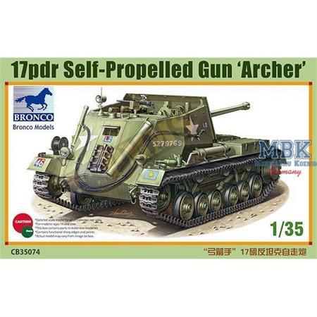"17pdr SPG ""Archer"""