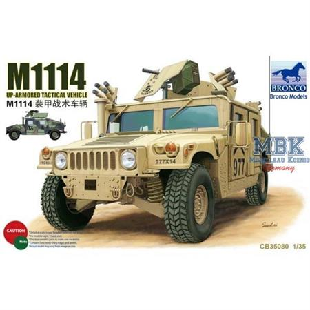 M1114 Up-Armoured  Tactical Vehicle