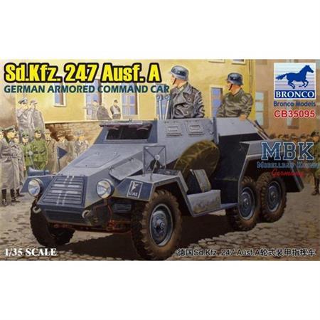 Sd.Kfz. 247 Ausf. A German armored command car