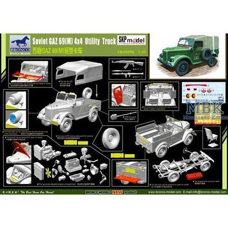 GAZ 69(M) 4x4 Utility Truck