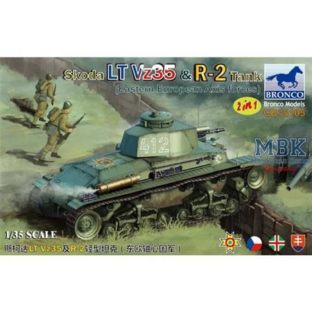 Skoda LT Vz35 & R-2 Tank (2 in 1)