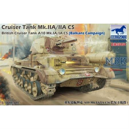 Cruiser Tank A10 Mk. IA/IA CS (Balkans Campaign)