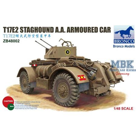 Staghound T17E2 AA Armoured Car