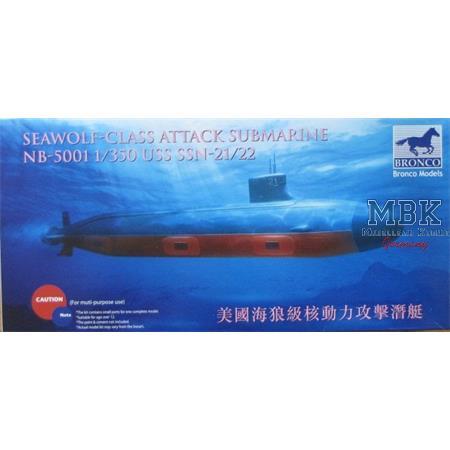 Seawolf-Class Submarine USS SSN-21/22