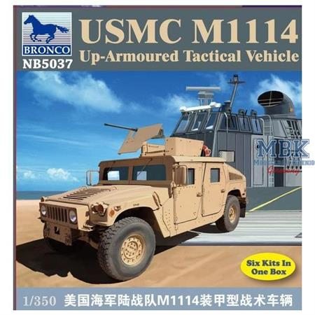 M1114 HMMWV up armoured