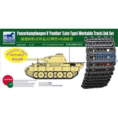 Panther late Workable Track Link Set