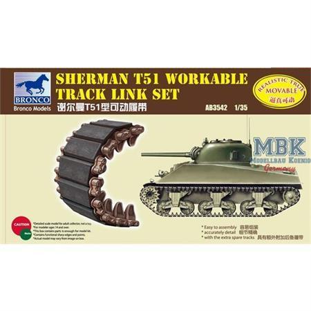 Sherman T51 Workable Track Link Set
