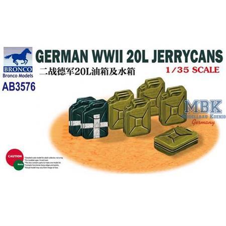 German 20L Jerrycans