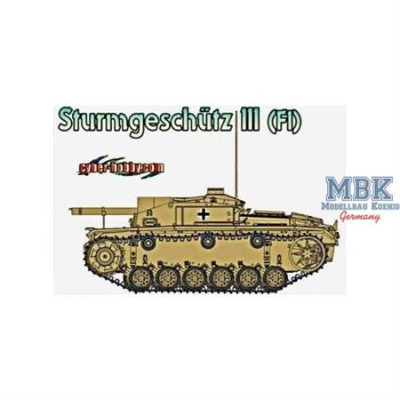Stug III (Flamm) - Cyber Hobby limited edition