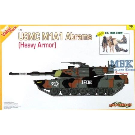 USMC M1A1 HA (heavy armour) Abrams (Orange Box)