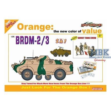 BRDM-2/3 (2in1) + sov. Tank Crew (OrangeBox)