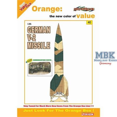V-2 Rocket w/ Communication Center (OrangeBox)